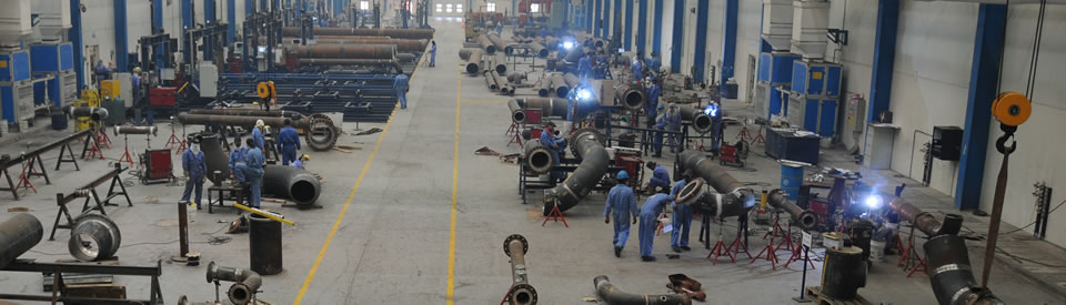 Pipe Spool Fabrication Facility